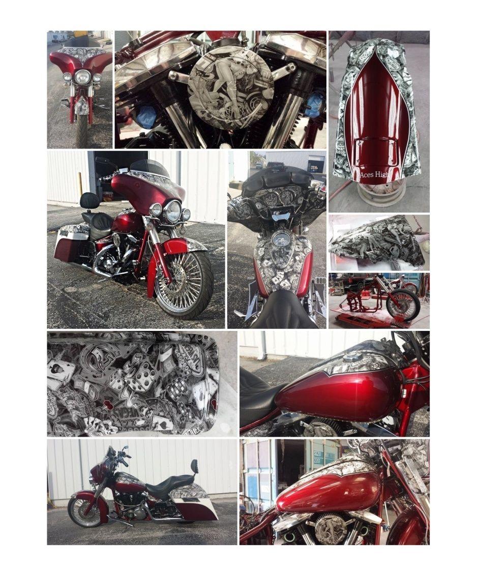 Progression on Tom\'s Honda Road Star Custom bike build. Off the ...