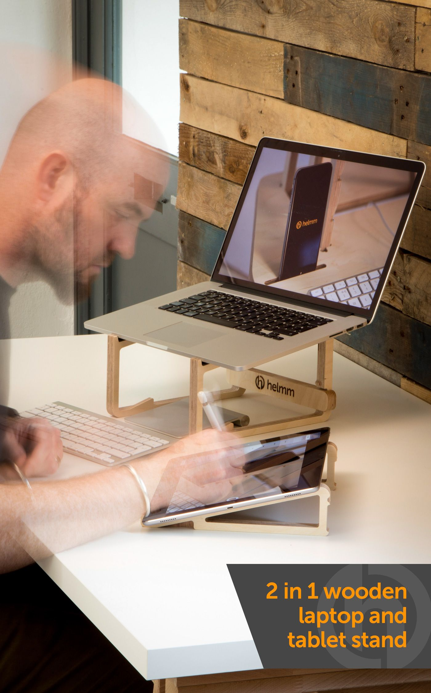 Lastand Laptop stand, Wooden laptop stand, Lap desk