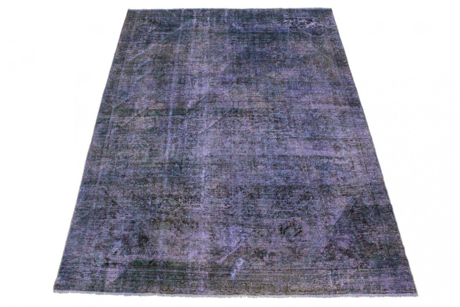 Teppich lila  Vintage Teppich Lila in 320x220cm | Colorierte Vintage Teppiche ...