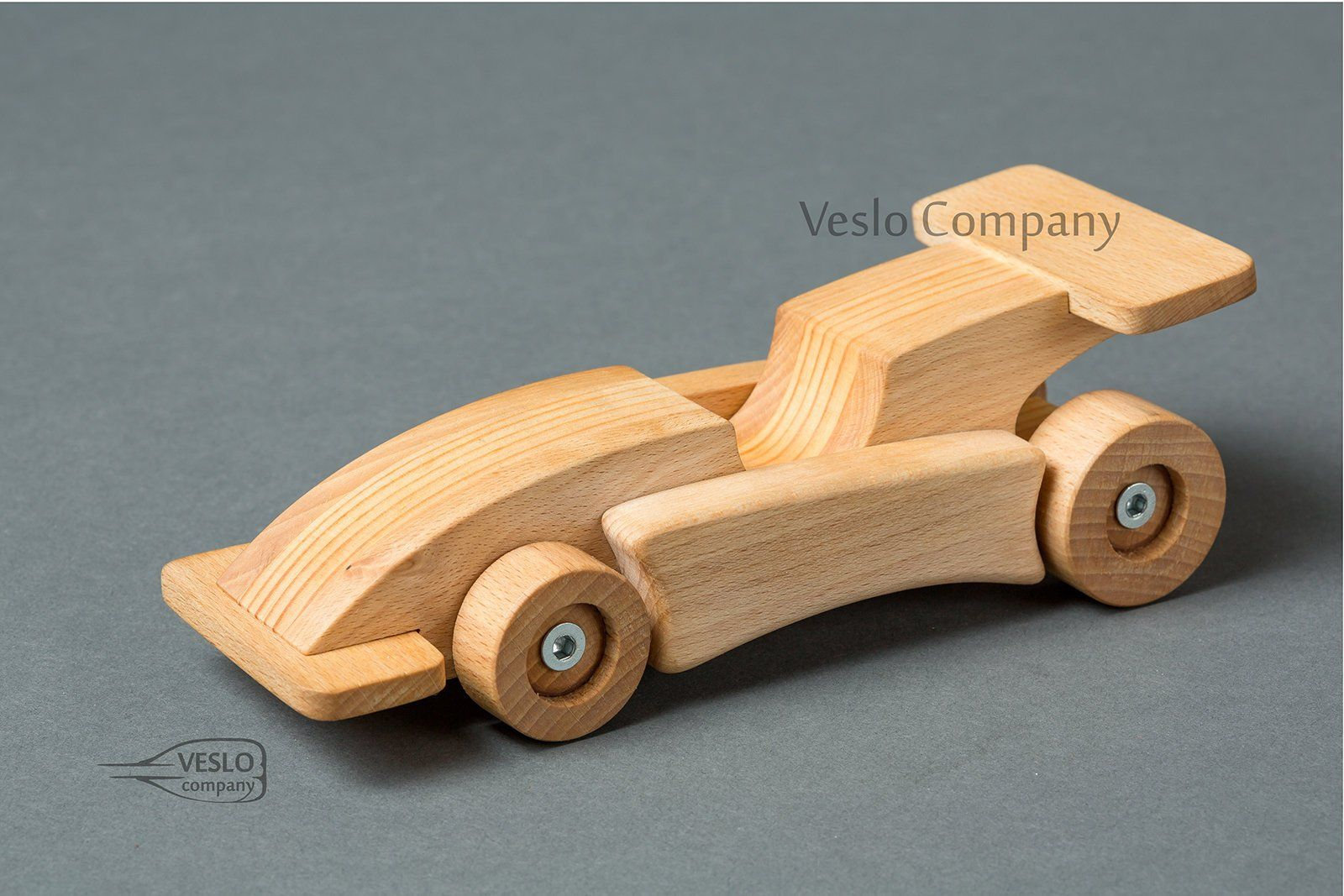 wooden car - kids toy car - sport car - wooden toy car