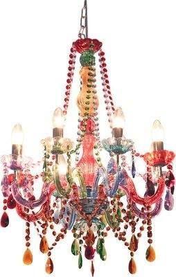 Colorful Chandelier Colorful Chandelier Candle Style