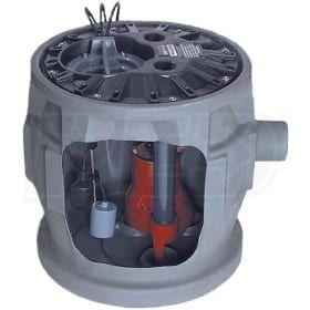 Liberty Pumps P382le41 4 10 Hp Pro380 Cast Iron Sewage Pump System 24 Inchx24 Inch Sewage System Sewage Pump Pumps