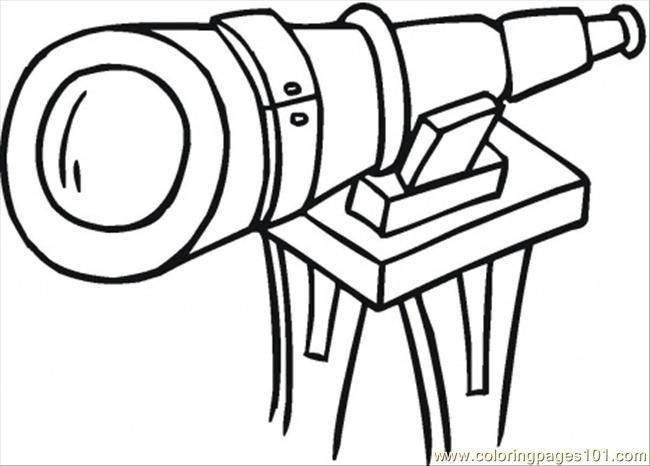 Telescope Coloring Page Google Search Bunny Coloring Pages Bug Coloring Pages Coloring Pages
