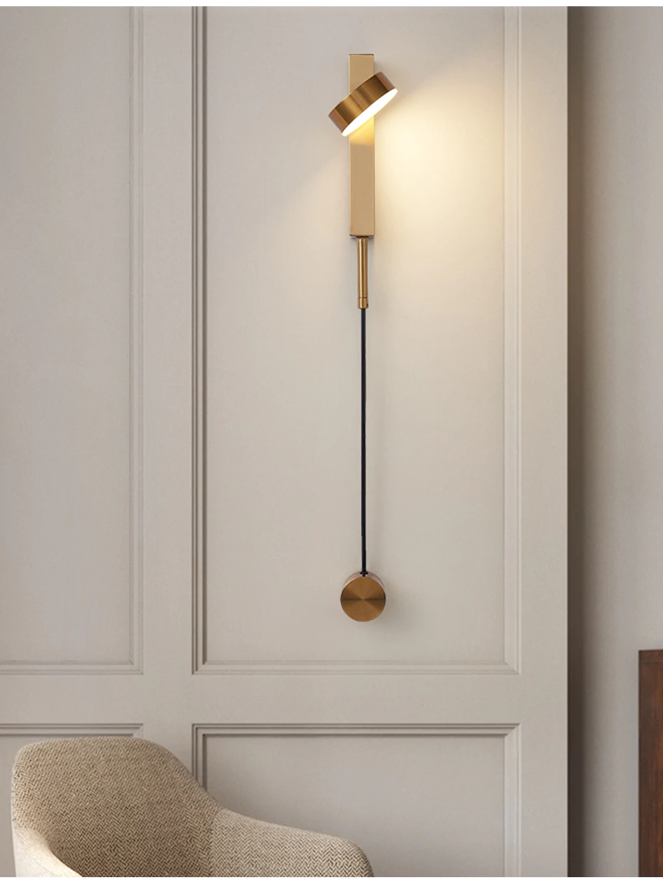 25++ Bedroom wall light with switch info