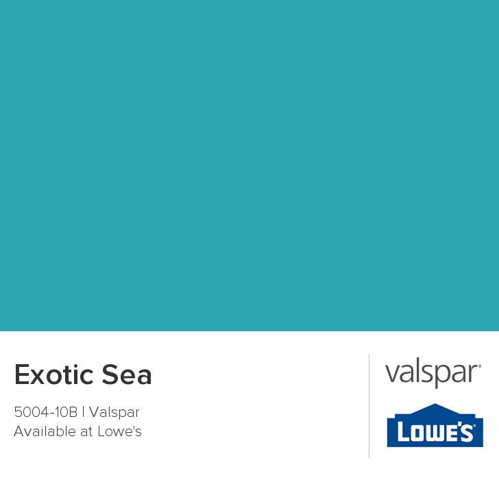 Exotic Sea Spray Paint From Valspar To Use On My Kitchen Chairs