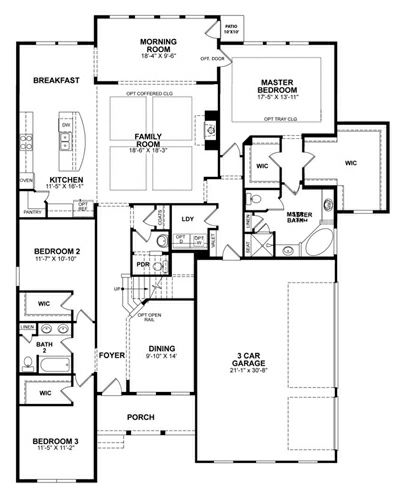 Berkeley Home Plan In Borgata Nashville 1014 Beazer Homes House Plans Floor Plans New House Plans