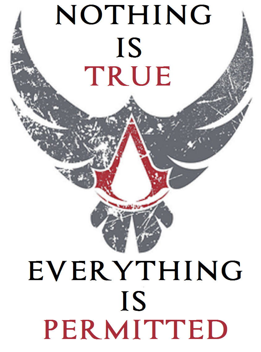 Nothing Is True Everything Is Permitted Assassins Creed Tattoo