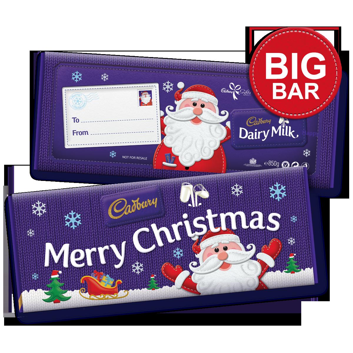Dairy Milk Merry Christmas Bar | Cadbury gifts, Chocolate ...