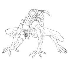 Top 10 Free Printable Funny Alien Coloring Pages Online