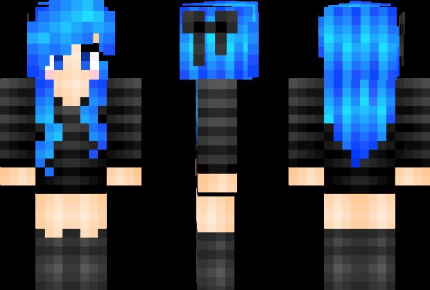 Skin de Chica Minecraft  Minecraft  Skins de minecraft