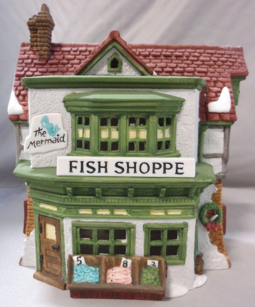 The Mermaid Fish Shoppe Dept 56 Dickens Village