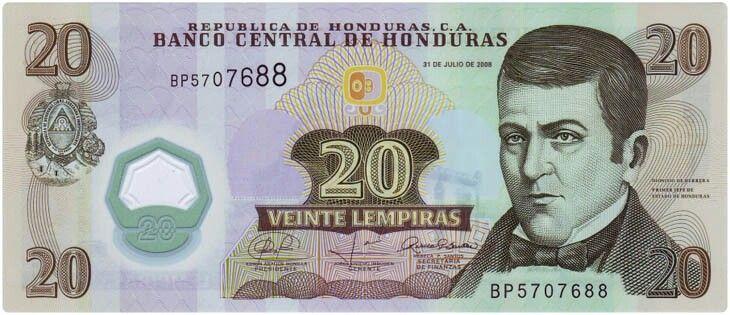 Honduras Currency Honduran Lempira