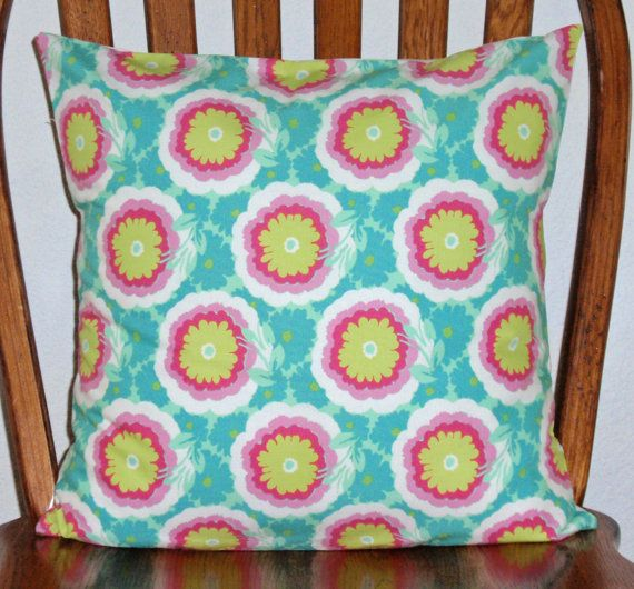 Throw Pillow Cover  16x16 sewn with Amy by PersnicketyHome on Etsy, $13.95