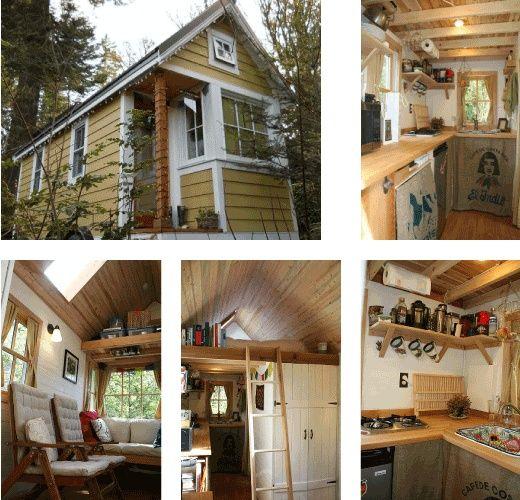 Bayside Bungalow Tiny House Built Using Tumbleweed Fencl Plans