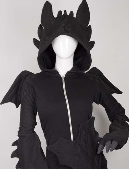 Toothless Hoodie | Ohnezahn kostüm, Kostümvorschläge