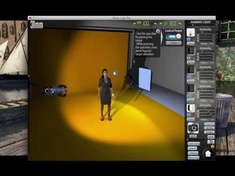 3D STUDIO SIMULATOR | lightmeup  | Photo lighting, Light