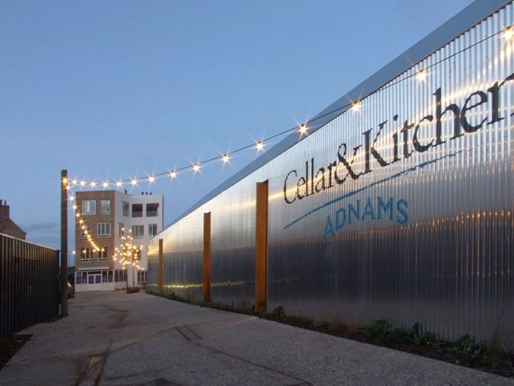 Street leading to new square & WINE STORES! Adnams Cellar u0026 Kitchen Store Southwold UK wine | Cool ...