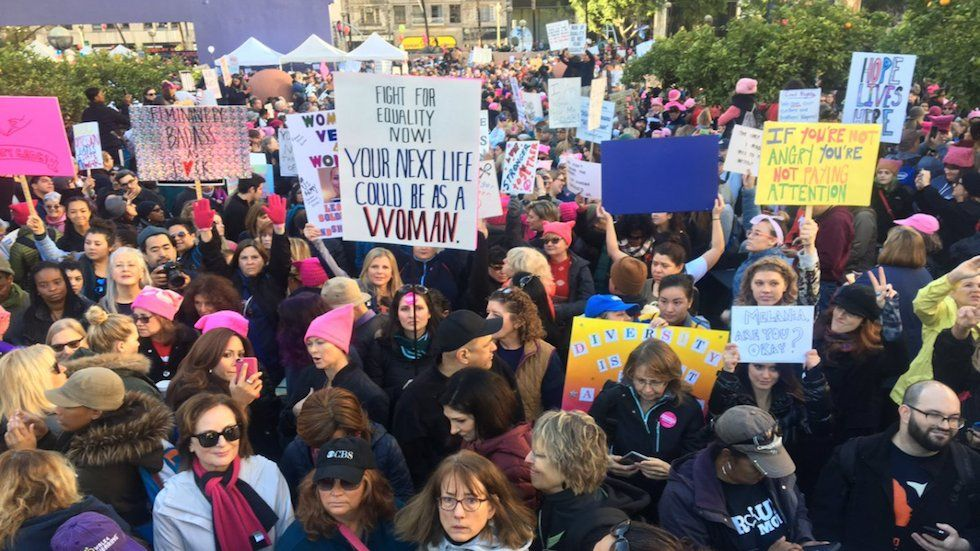 The Hill On Twitter L A Womensmarch Expected 80k Protesters 750k Showed Up Https T Co 3azsl8gynx Https T Co Umbeyj Womens March Women In History Women