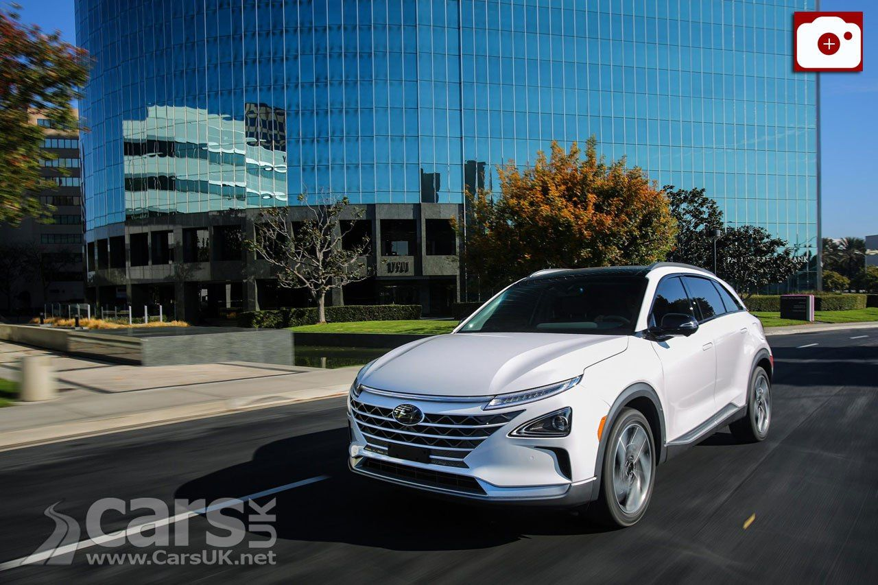 Hyundai Nexo Hydrogen Fuel Cell on sale in Korea from just