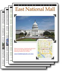 Washington Dc Self Guided Walking Tours And Printable Maps Facts Printable Pdf Tour Map