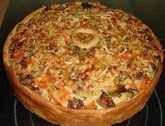 Hackfleisch - Schmand - Torte von missi79 | Chefkoch