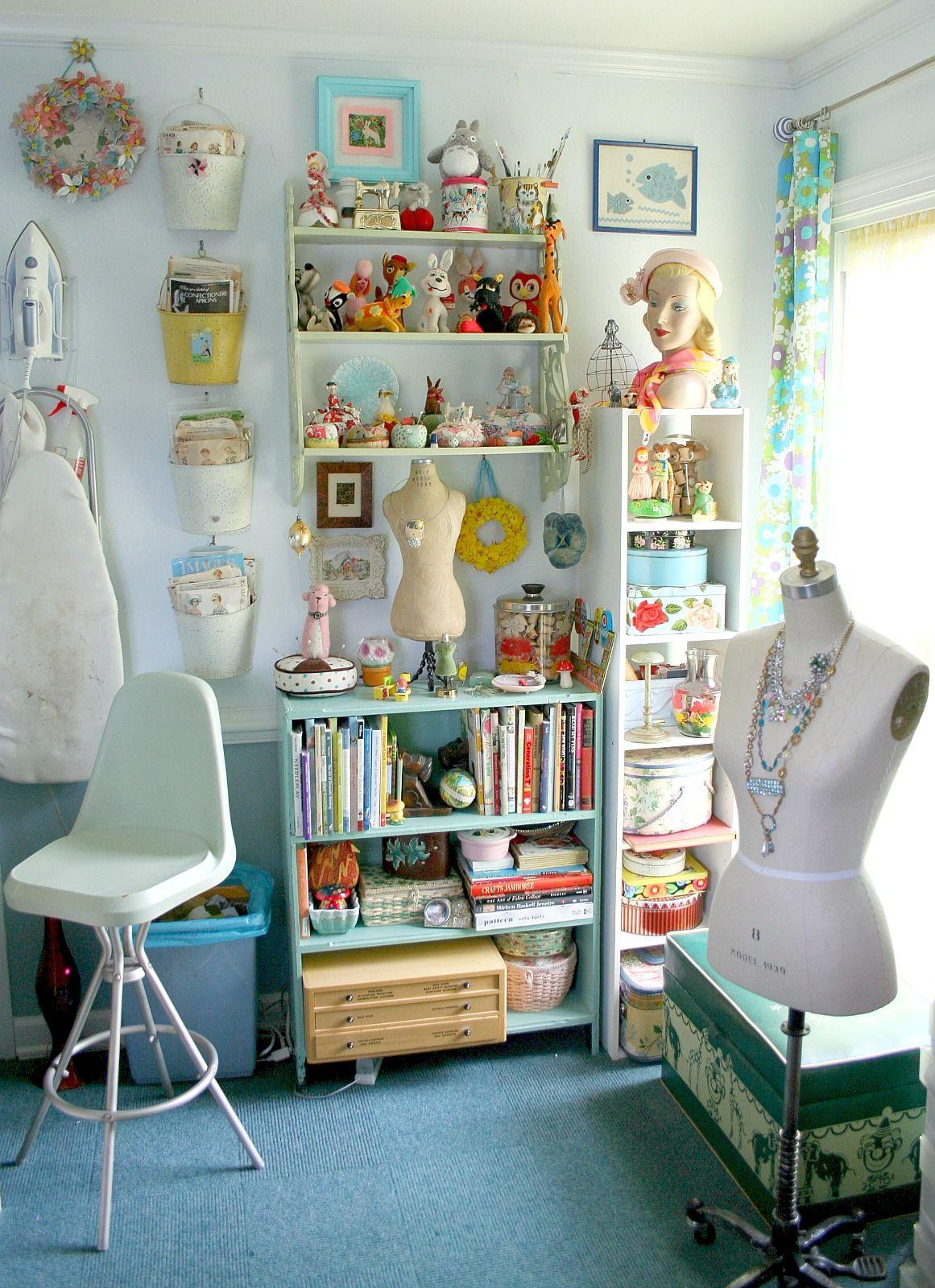 www.georgiapeachez.com | GeorgiaPeachez Sewing Studio Craft Room ...