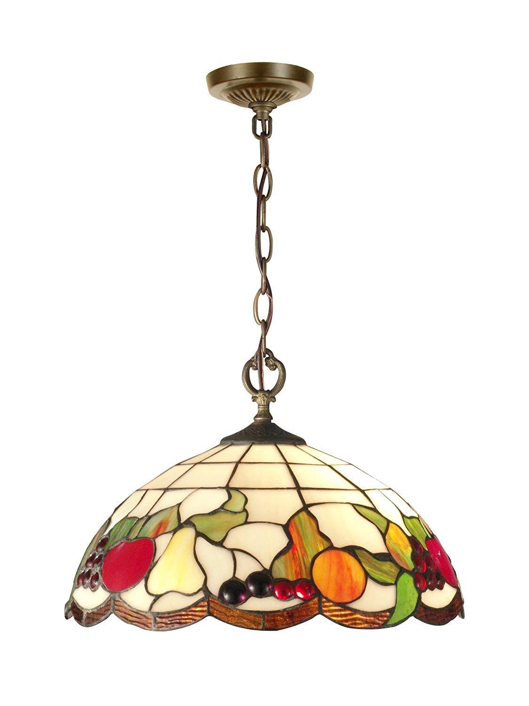 Springdale Sth11002 Fruits Tiffany Pendant Antique Brass Lightfixtures Lighting Decor Lights Rem Hanging Pendants Hanging Pendant Lights Pendant Light