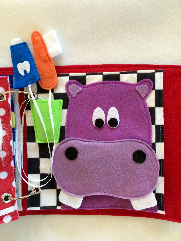 ... Hippo cepillado - una sola página para agregar a tu libreta  personalizable. Abre y cierra el hipopótamo de boca y practicar el cepillado  de los dientes ... 3f2e5dee6855