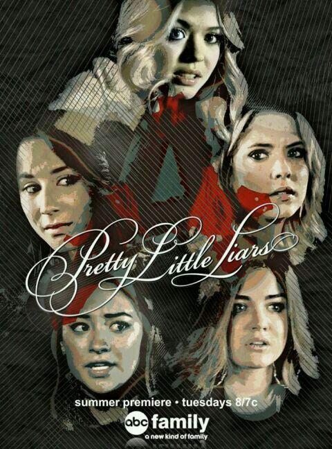 Alison,Spencer, Hanna,Emily,Aria