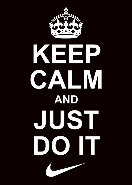 Keep Calm And Just Do It Mma Fitness Motivation Keep Calm Calm