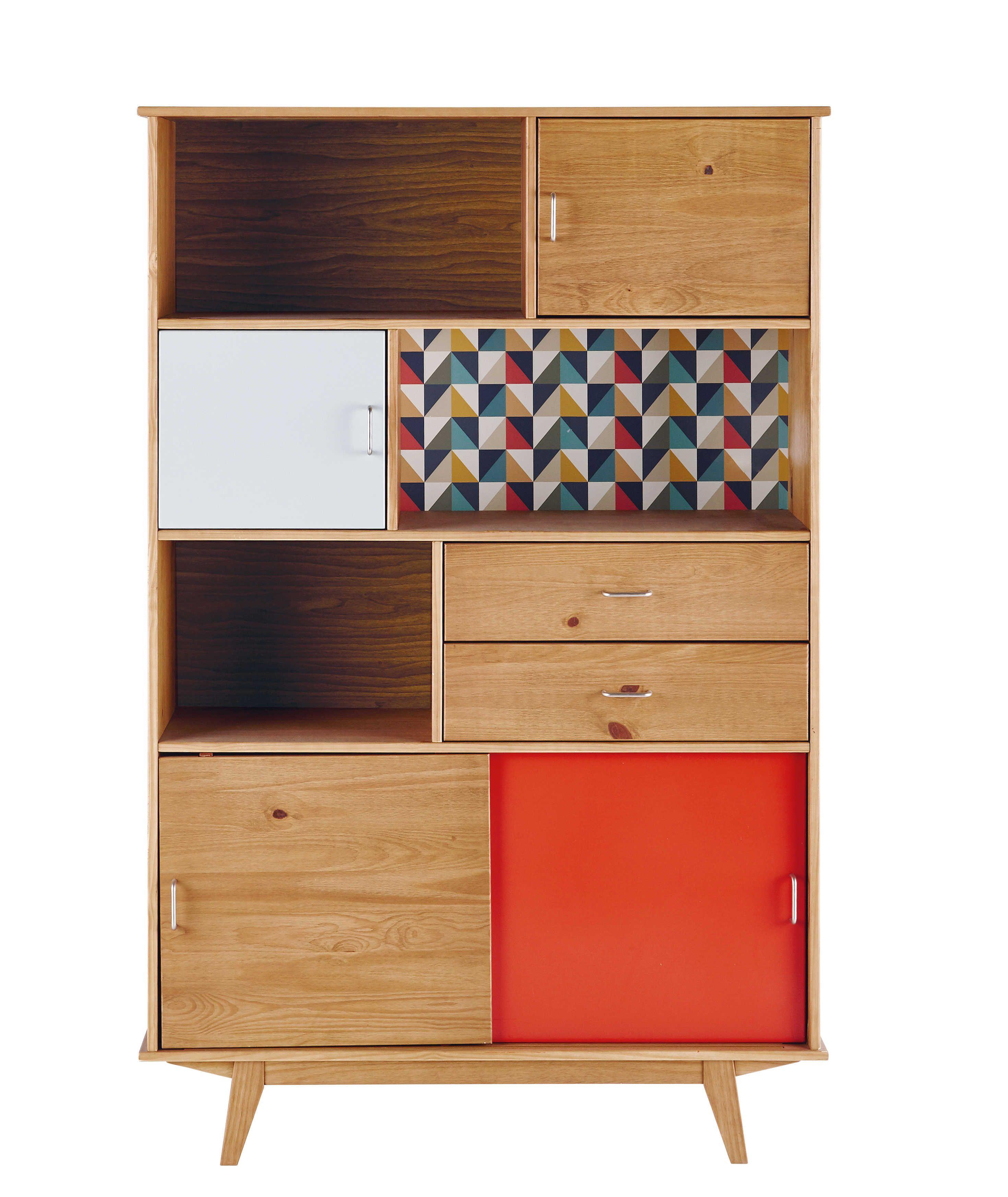 mobler drop down san bookcases danish vintage i diego domino modern bookcase loveseat furniture