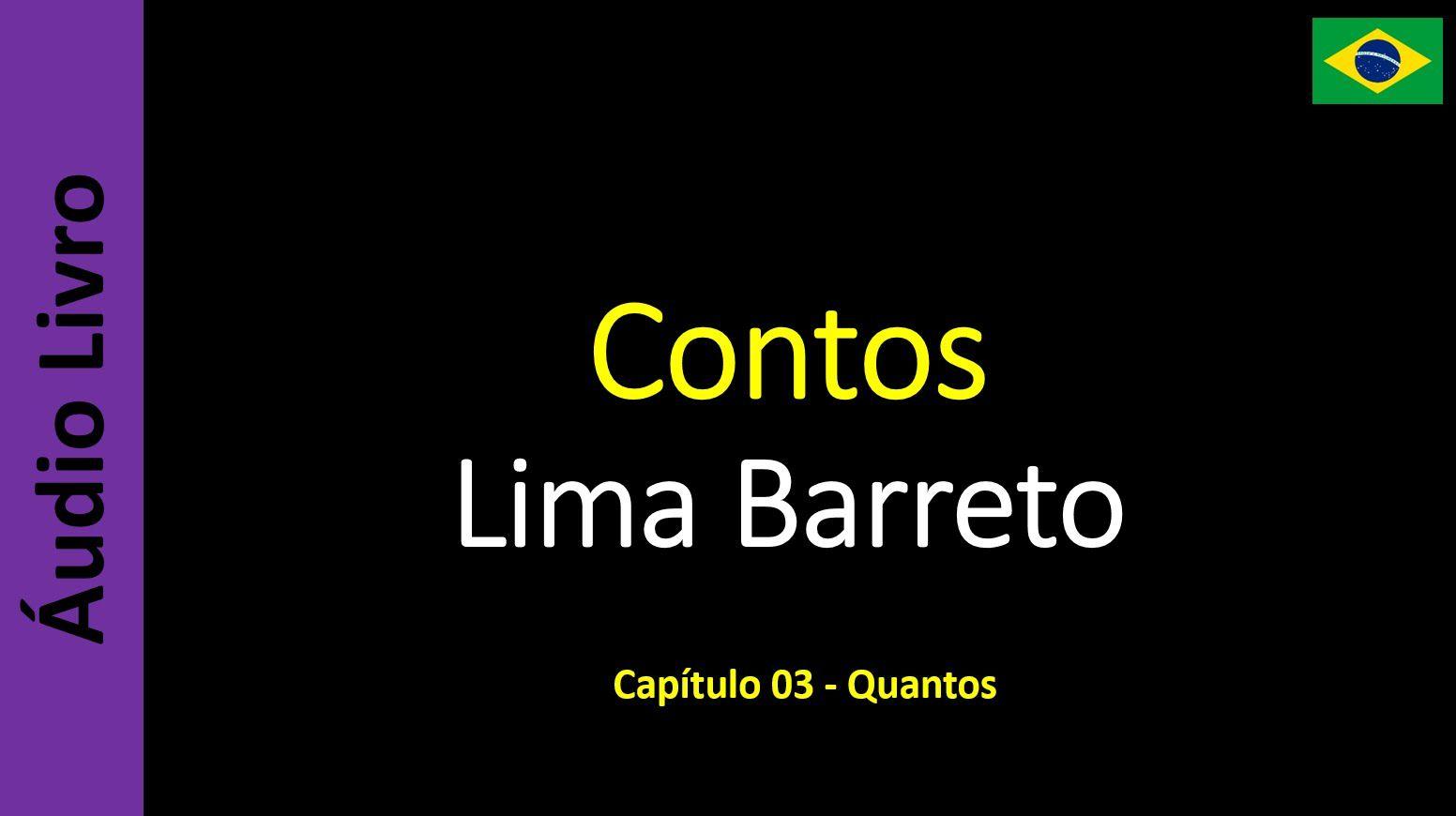 Lima Barreto - Contos - 03 / 20