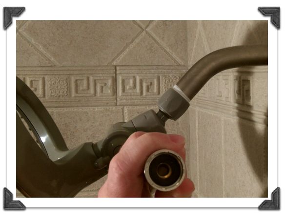 Delta In2ition Shower Heads-Attach the hose to the shower head and ...