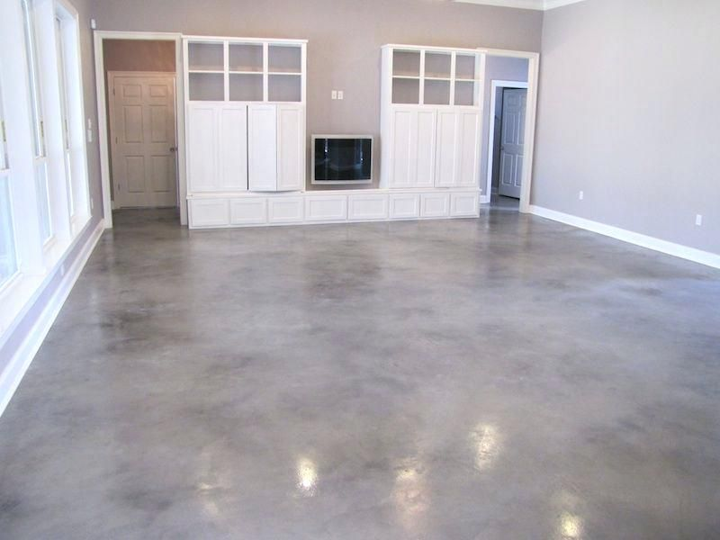 Ceramic Tile Vs Stained Concrete