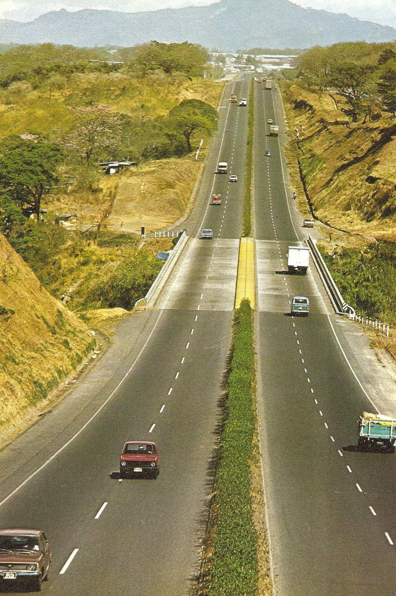 Autopista General Canas Ano 1970 Around The Worlds Costa Rica