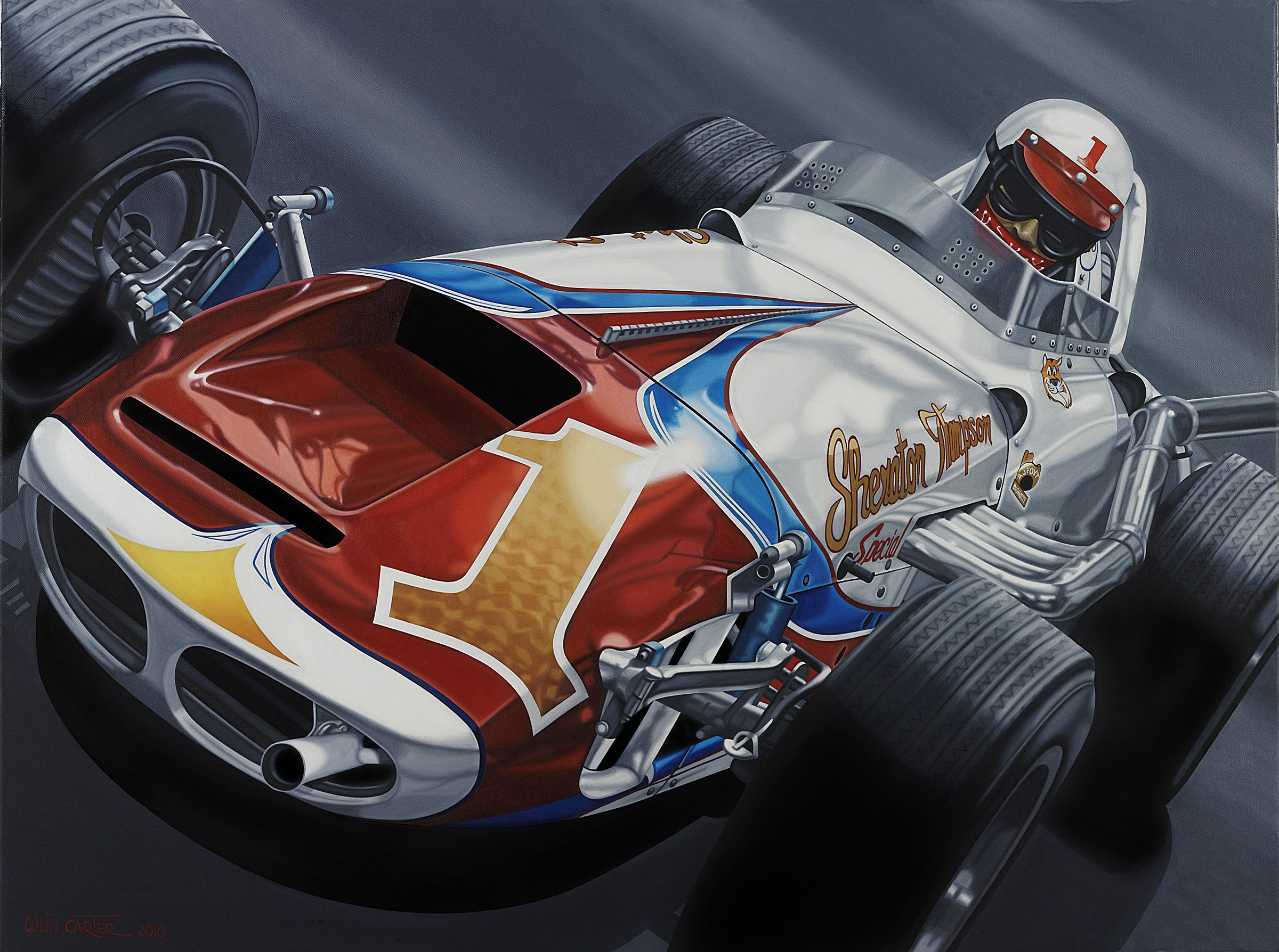 AJ Foyt\'s number one from the early \'60s would still be \'the ride ...