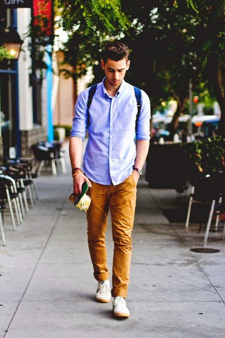 87650813d1 Macho Moda - Blog de Moda Masculina  Looks Masculinos com Tênis Branco