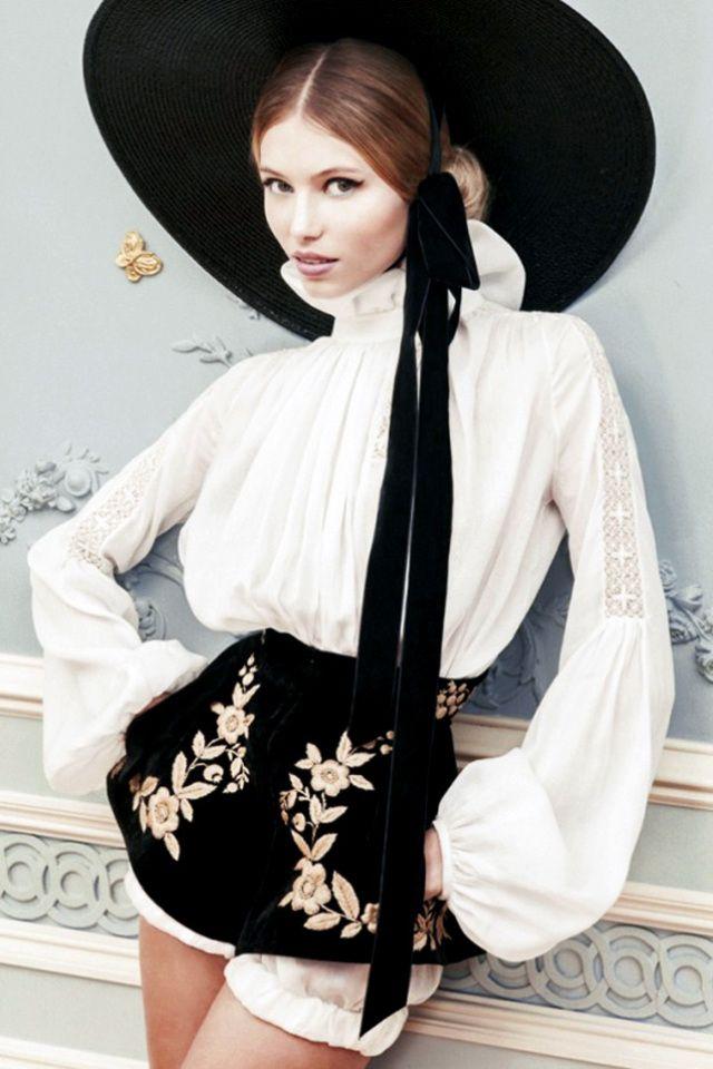 Ulyana Sergeenko Haute Couture S/S 2013 Lookbook *the sleeve*