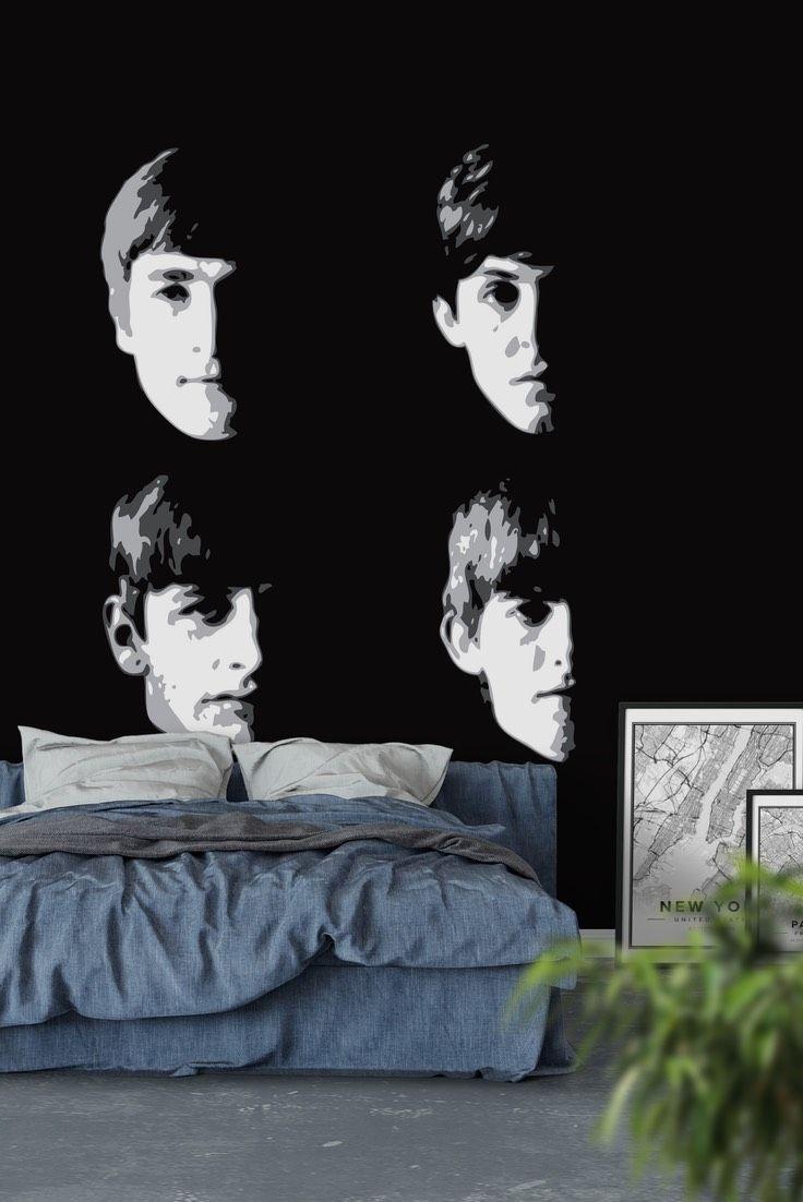 The Beatles Wall Mural / Wallpaper Music Wall murals