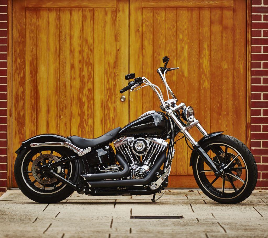 Harley Davidson Breakout Vance & Hines Short Shots, High