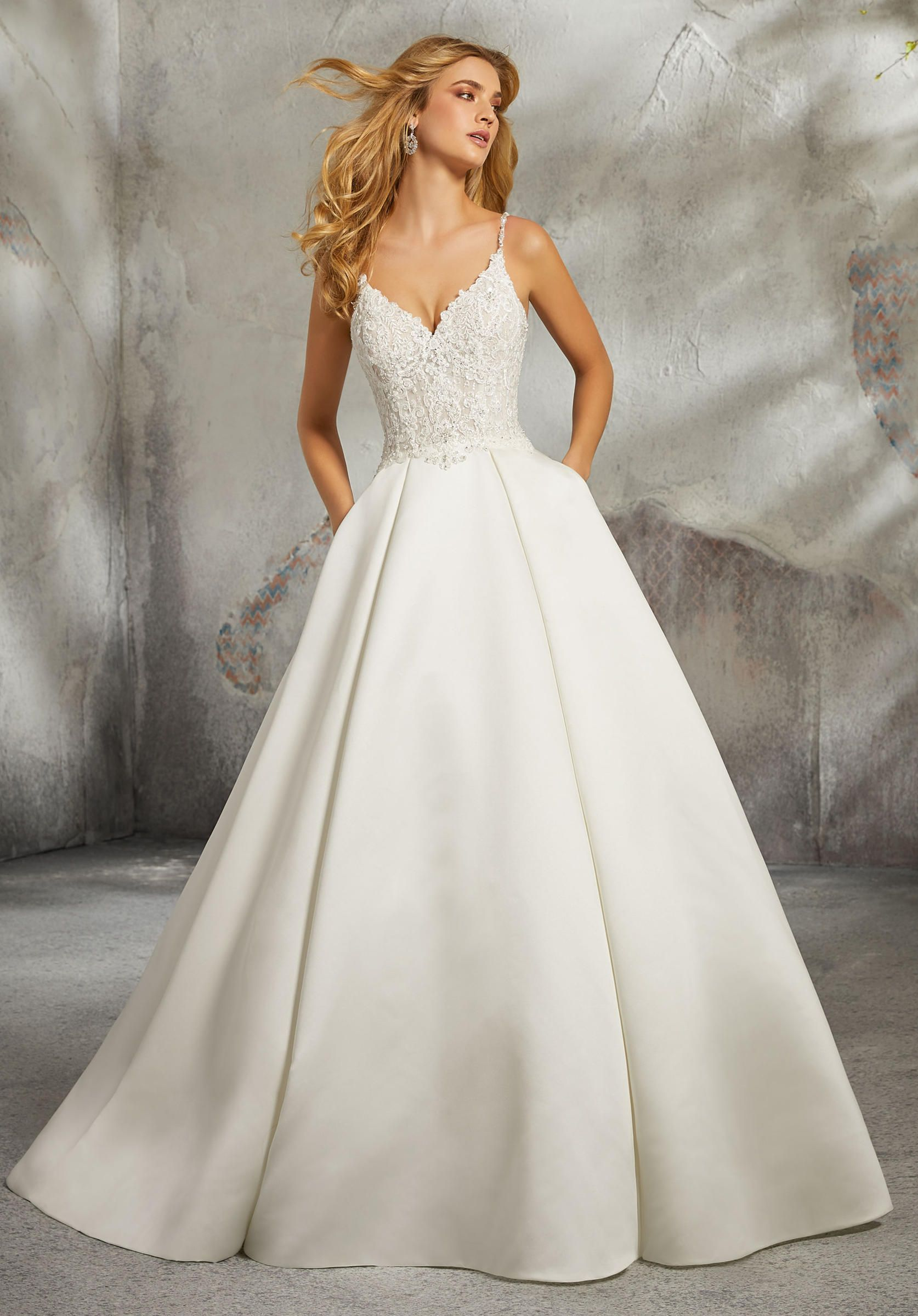 Morilee Wedding Dresses 8272 in 2020 Ball gown wedding