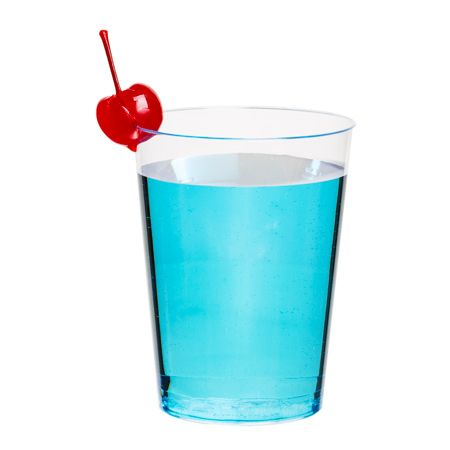 cwt10 10 oz clear plastic drinking glasses