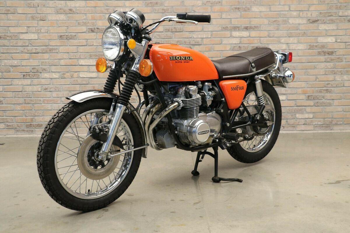 1976 Honda CB550 F Super Sport Classics Motorcycle For