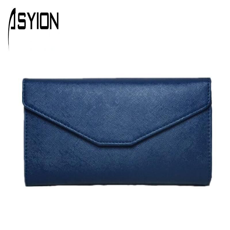 $9.59 (Buy here: http://appdeal.ru/8dbn ) ASYION 2016 New Pu Leather Women's Wallet Organizer Wallets Phone Clutch Coin Purses Postcard Holders Carteira Feminina DB5065 for just $9.59