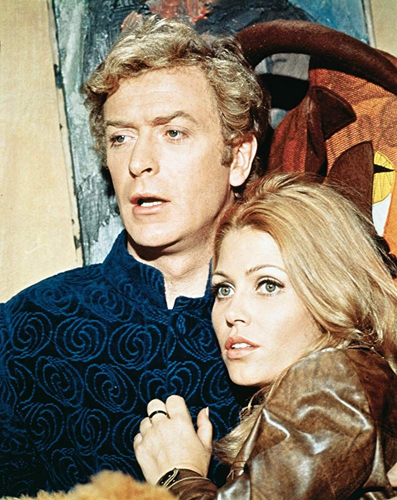 Sixties | Michael Caine and Margaret Blye in The Italian Job, 1969 | The  italian job, Photography movies, Michael