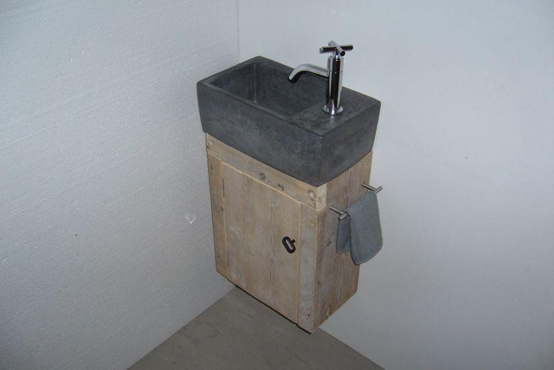 Toiletfontein met kastje idées pour la mais