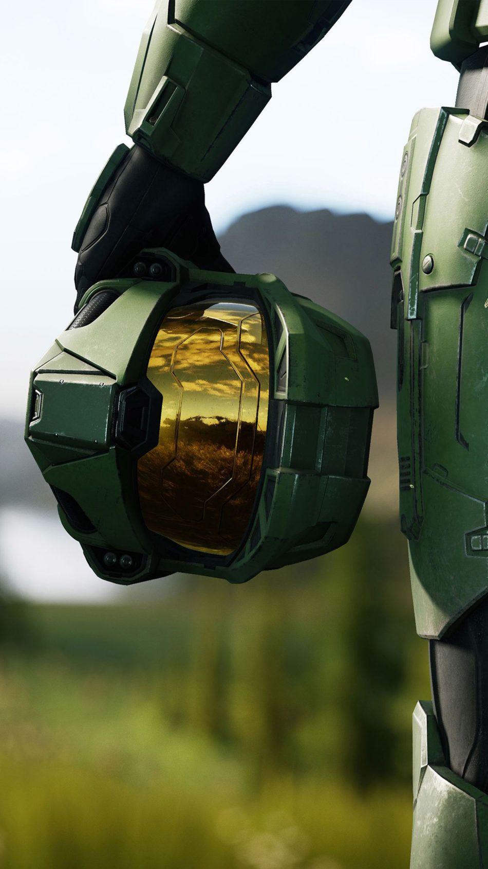 Halo Infinite 2020 Helmet 4k Ultra Hd Mobile Wallpaper Halo Master Chief Halo Armor Halo