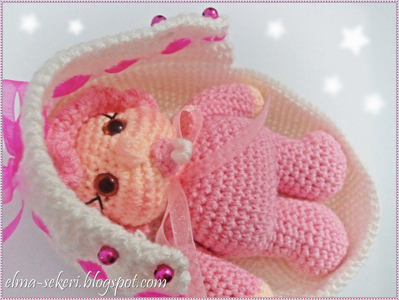Amigurumi Zürafa Yapımı : Amigurumi yeni doğan bebek doll baby amigurumi bebekler