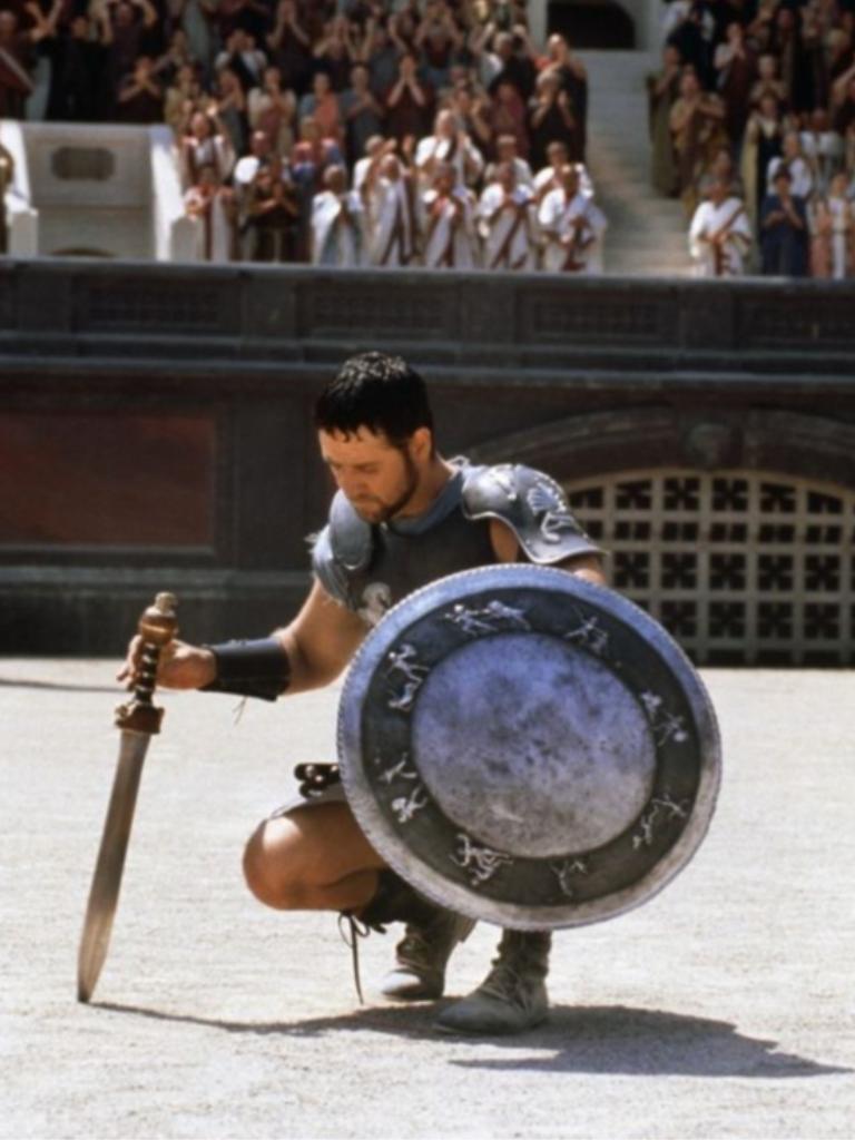 Russell Crowe A Very Yummy Guy Jh Gladiador Pelicula Peliculas Cine Cine Epico