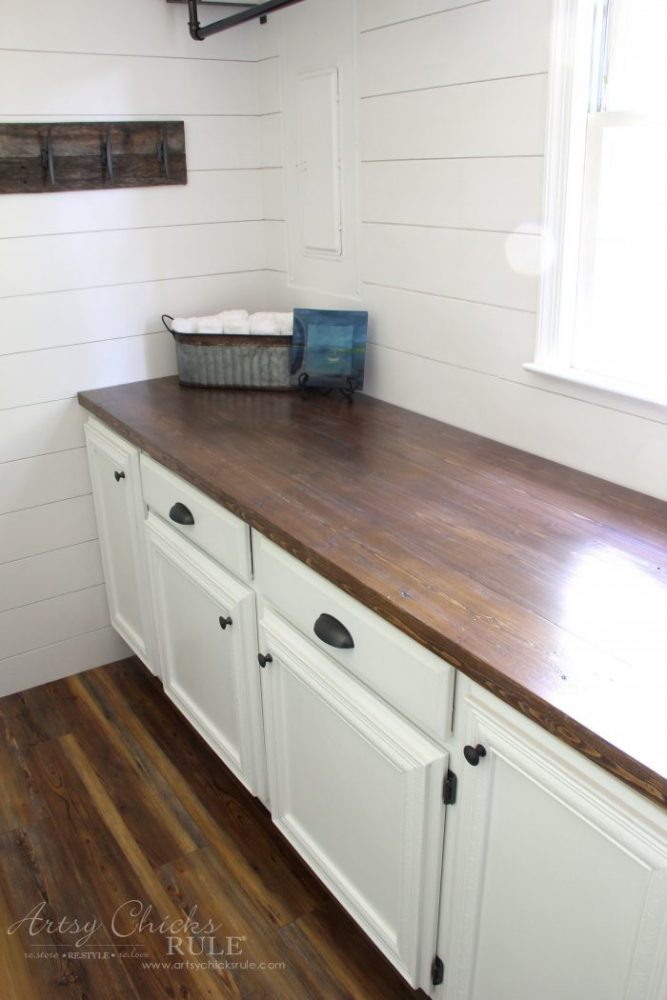 How To Make A Diy Wood Countertop Easier Than You Thought In